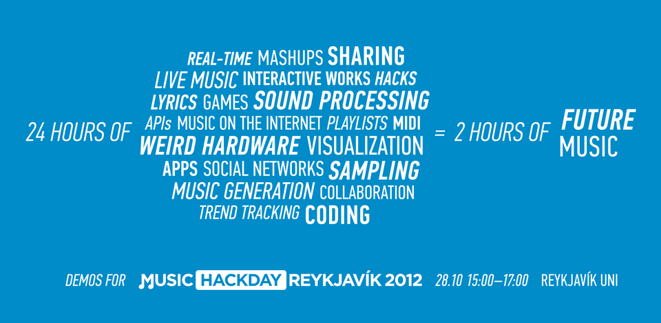 Music Hack Day Demo Banner
